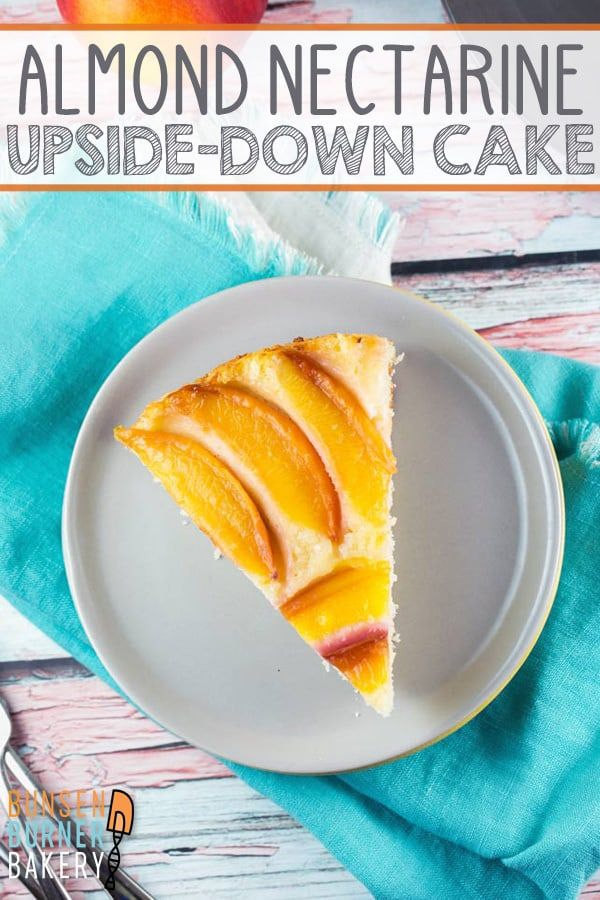 nectarine upside down cake recipe in 2020 best dessert recipes upside down cake dessert recipes easy pinterest
