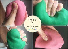 Ma recette facile et économique pour fabriquer de la pâte à modeler maison, non toxique pour les enfants.