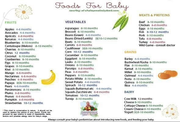 Best First Foods to Feed Your Baby