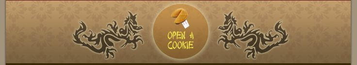 Open a Fortune Cookie - fortune cookie sayings archive :)
