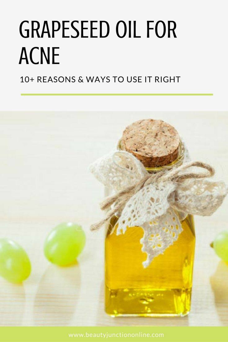 Discover the best ways and reasons to use grapeseed oil for acne