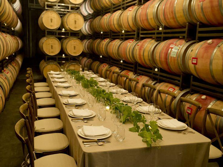 Barrel Room at Francis Ford Coppola Winery