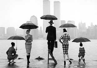 umbrellas in NYC