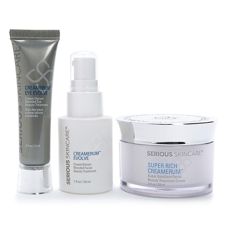 Serious Skincare by Jennifer Flavin-Stallone Serious Skincare Super Rich Creamerum™ Savings Kit
