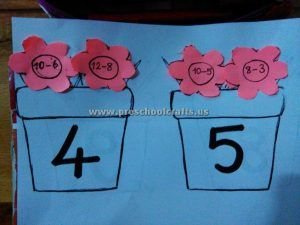 subtraction activity ideas for first grade
