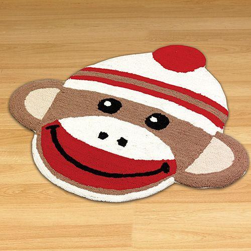 Sock Monkey Rug 29 98