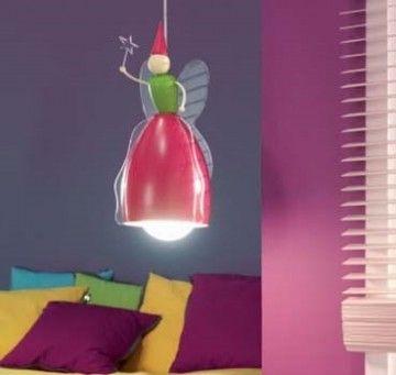 Laat de Philips myKidsRoom Fairy hanglamp over uw kleine prinses waken.