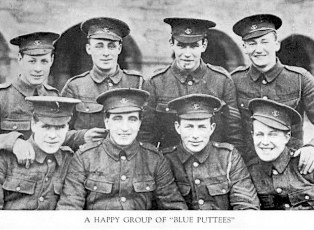 Soldiers of the Newfoundland Regiment Blue Puttees WW1 Why the battle at Beaumont Hamel should be remembered..
