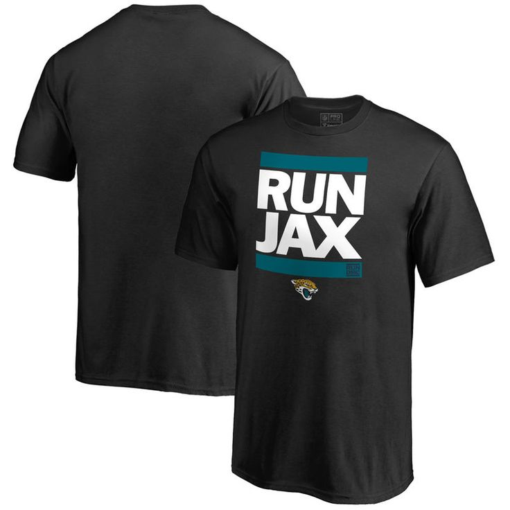 Jacksonville Jaguars NFL Pro Line Youth RUN-CTY T-Shirt - Black