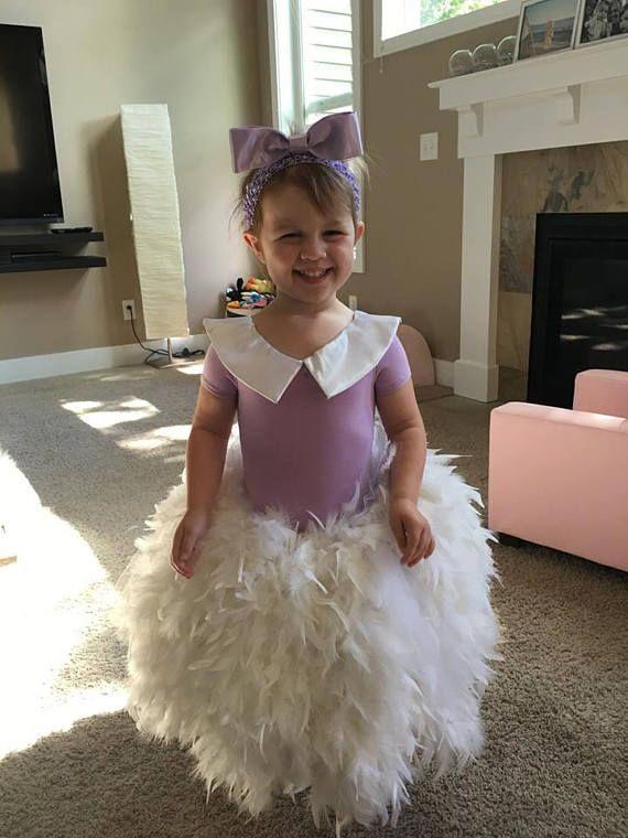 Girls Daisy Duck inspired Dress Daisy Duck costume for girls