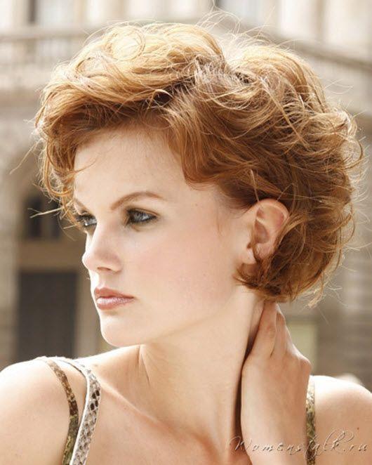 Стрижки для вьющихся волос: короткие, средние