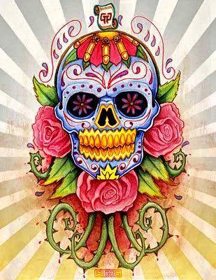 Ms de 25 ideas increbles sobre Dibujos de calaveras mexicanas en