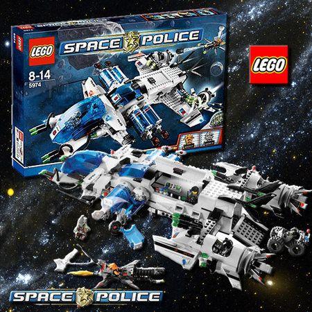 LEGO SPACE POLICE GALACTIC ENFORCER - 5974 Buy Online