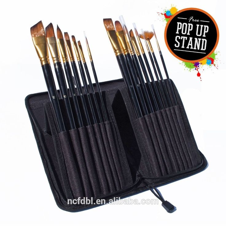 Professional Art Supplies 15 Piece Travel Paint Brush Set For Watercolor,Acrylics,Oil & Face Painting With Carry Case Photo, Detailed about Professional Art Supplies 15 Piece Travel Paint Brush Set For Watercolor,Acrylics,Oil & Face Painting With Carry Case Picture on Alibaba.com.