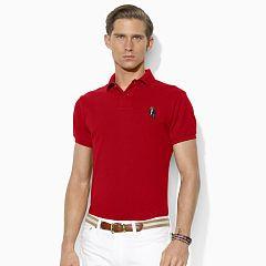 Custom-Fit Bear Polo Shirt - Personalisation Custom Fit - Ralph Lauren UK