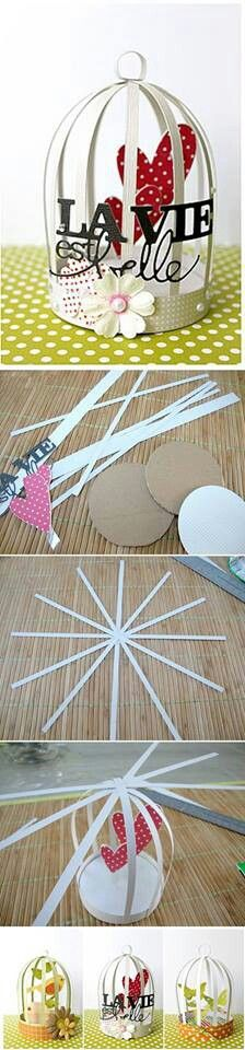 Nice idea for a mothers day craft
