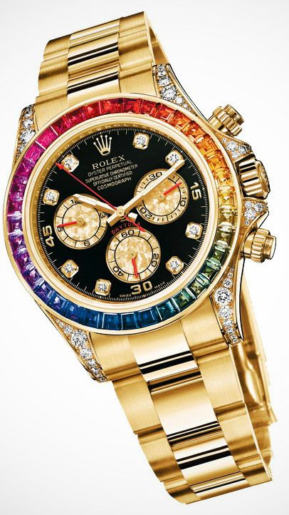 oh how i love thee daytona of solid gold, diamonds and sapphires
