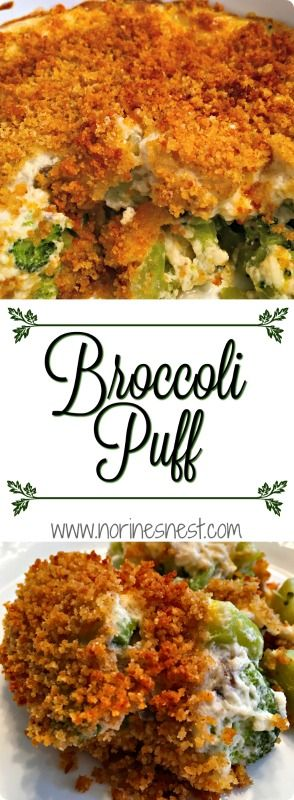 A light, delicious, fluffy creamy cheese topping over broccoli that will remind you of a vegetable souffle...without all the stress of one. The perfect side dish for your Holiday Meals! So tasty!!!