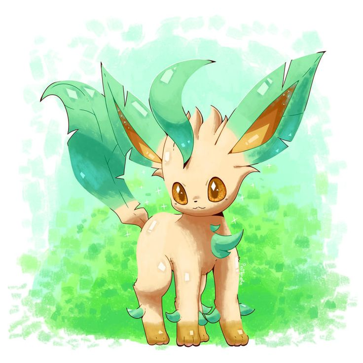 Shiny leafeon by IPlatArtz on DeviantArt | Pokemon sketch ...
