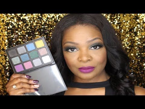 Morphe 12Z Palette Swatches ✨ - YouTube