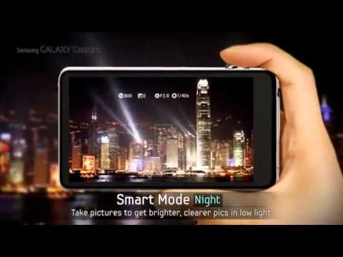 Samsung GALAXY Camera official video