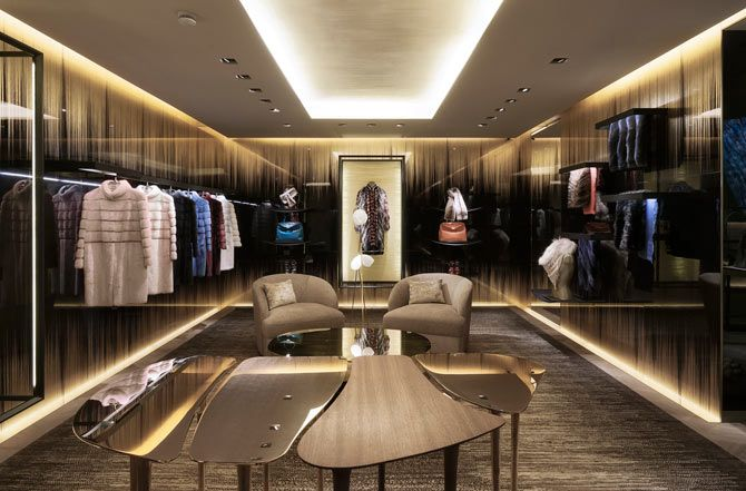 FENDI London Bond Street<br />LADIES | WORKS - CURIOSITY - キュリオシティ -