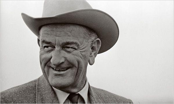 Lyndon B. Johnson, a Texas native, was quite fond of his Stetson.