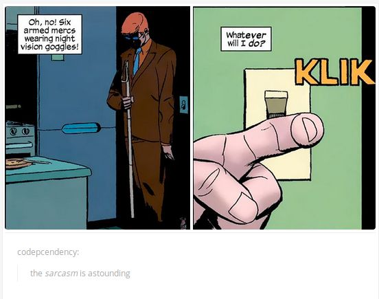 daredevil/matt murdock comic text post