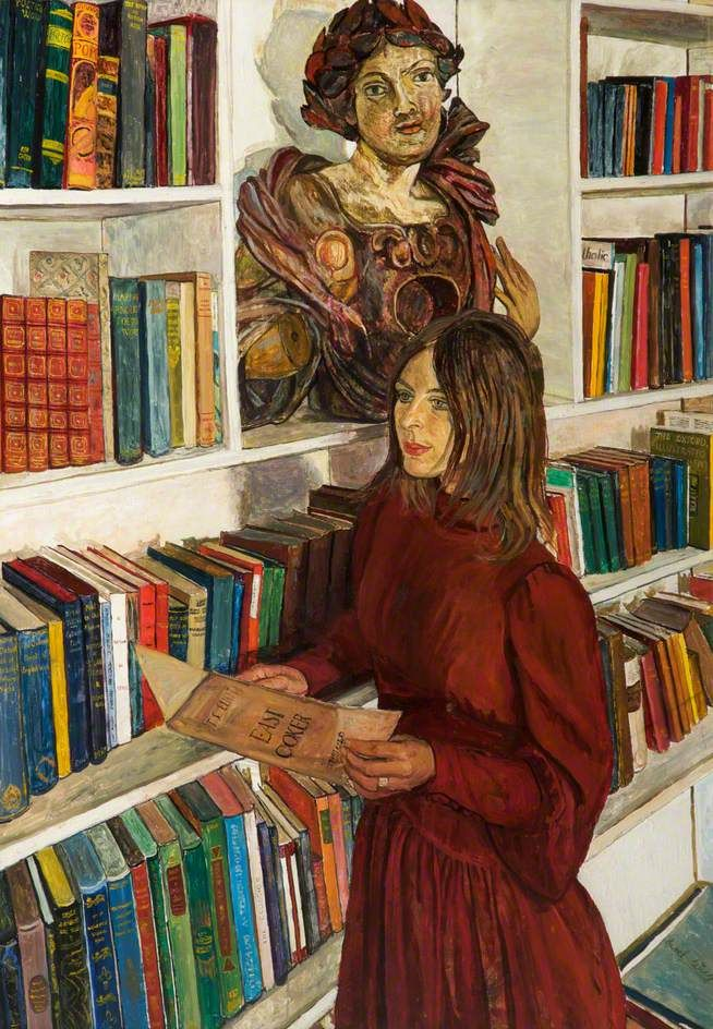 "Carel Weight, ""The Library"", 1971"