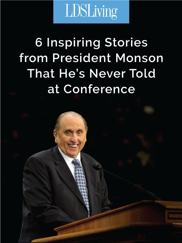 Here are six life experiences that the prophet has never shared in general conference. You may not have heard these inspiring stories before!