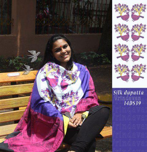 Silk Dupatta - 14DS39