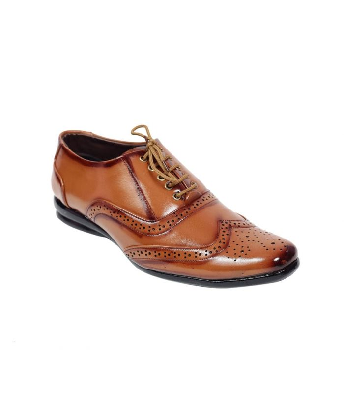 Buy Brown Oxford Formal Shoes Online for Men in India - Etashee