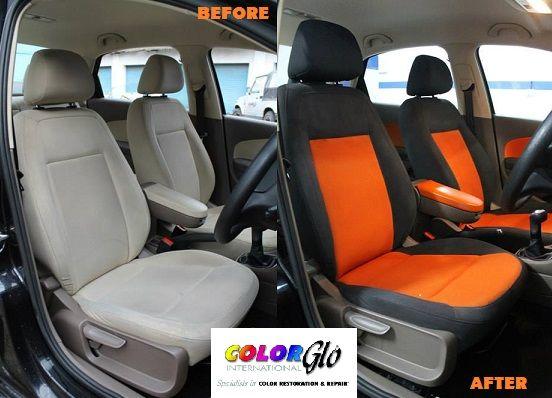 Cambio colore interni auto