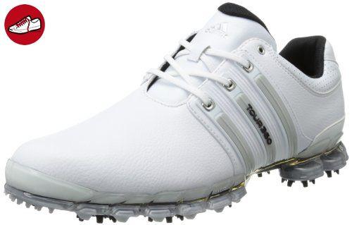 Adidas Herren Tour 360ATV M1Golf Schuh, weiß - White/Metallic Silver/White - Größe: 45,3 EU D(M) - Adidas schuhe (*Partner-Link)