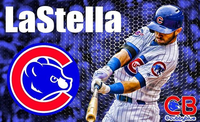 #Cubs #W!!! Final score 6-5 #Cubbies take out 2 out of 3 against the #Brewers. #tommylastella went 3-3 with an RBI and a Walk today #flythew #Believe