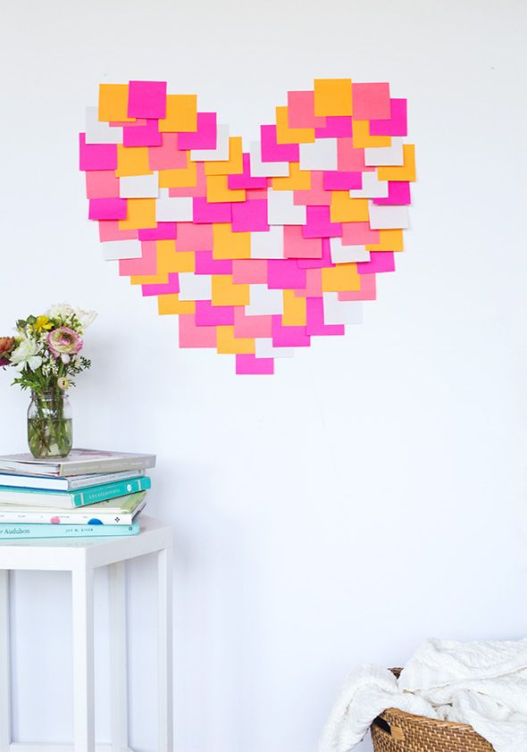 post-it notes craft