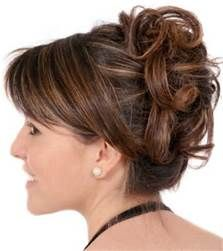 Mother Of The Bride Hairstyles Partial Updo - Bing Images