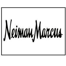 "This current Neiman Marcus logo has no hyphen between ""Neiman"" and ""Marcus""."