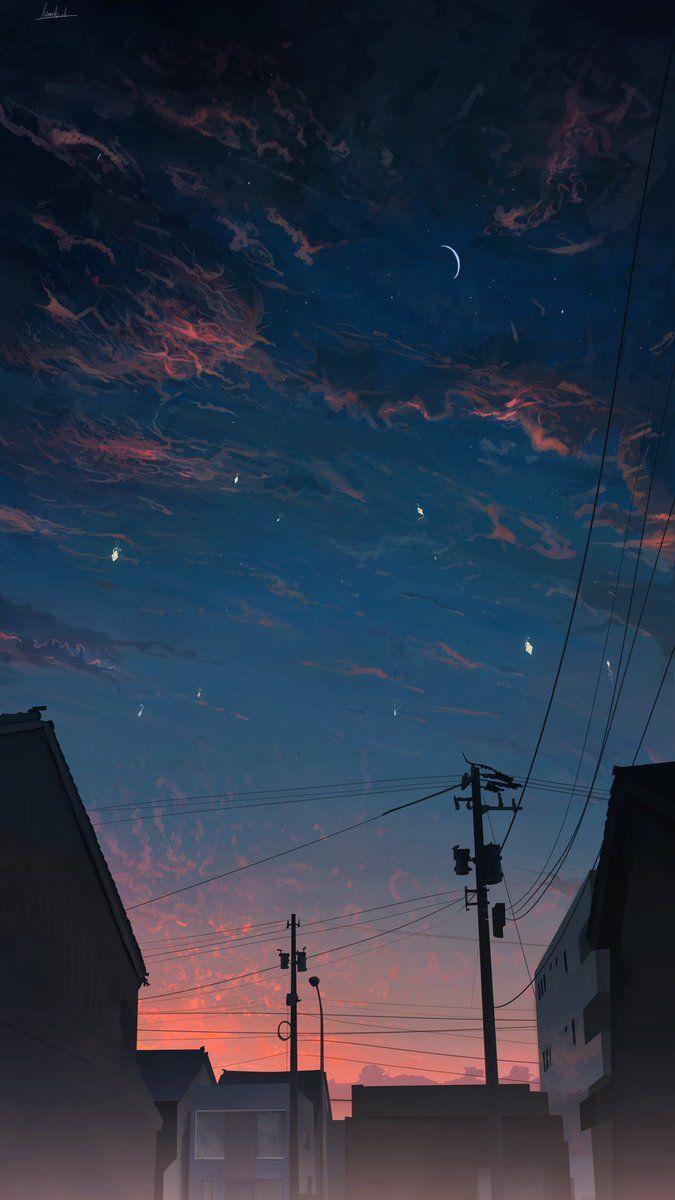 Banishment On Twitter Scenery Wallpaper Sky Aesthetic Night Sky Wallpaper