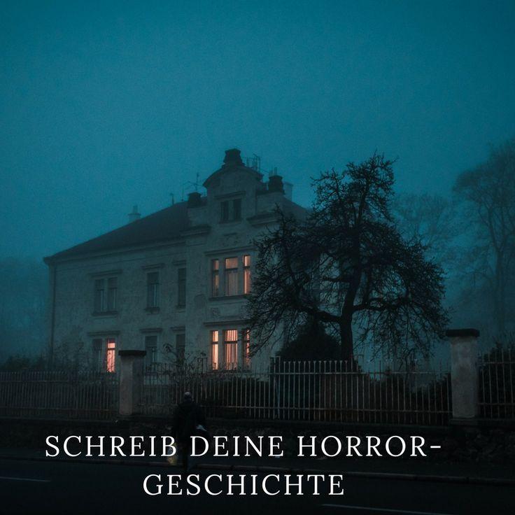 Wie du eine stimmungsvolle Horror-Geschichte schreibst. #Halloween #Lovecraft #Horror #schreiben
