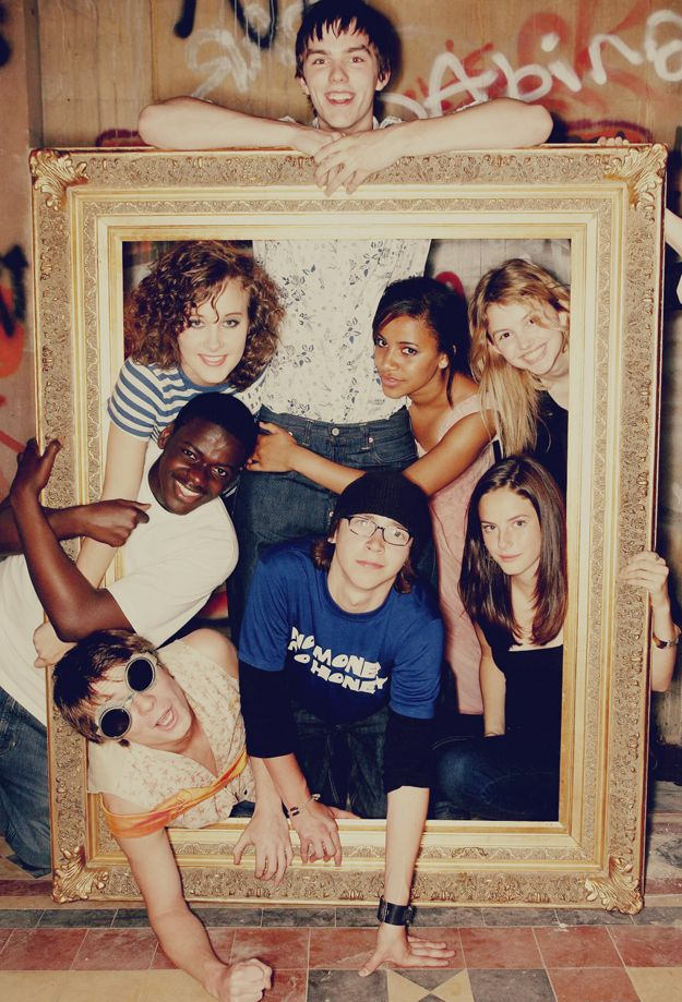Original cast of Skins Photo