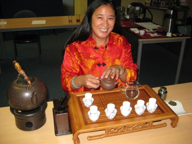 Gong Fu Tea Tasting at Axiom College, March 2012