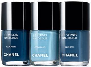 Chanel proprone i nuovi toni del blu.