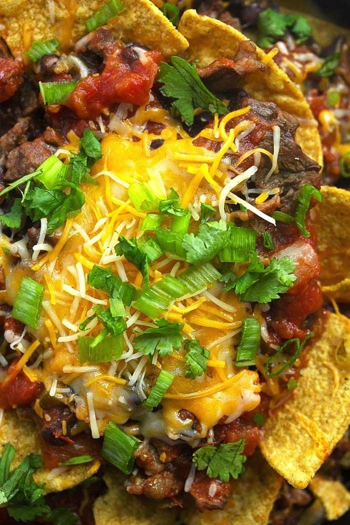 Steak Nachos and Cook Book Giveaway
