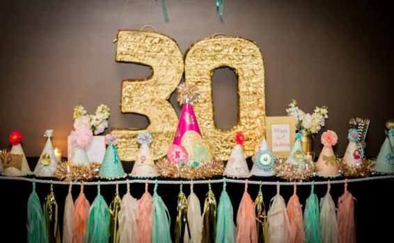 Frases de cumplea os para los 30 a os sarahi pinterest for 30th birthday party decoration