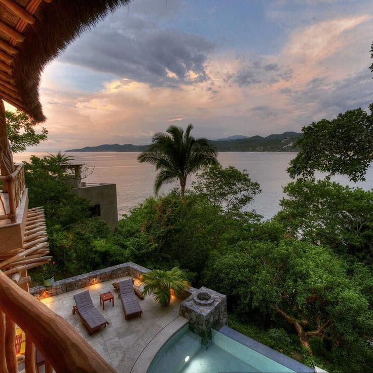 Casa Buena Vista in Punta Sayulita combines luxury living with breathtaking views of the Pacific Ocean and the village of Sayulita. | TripWix Vacation Rentals