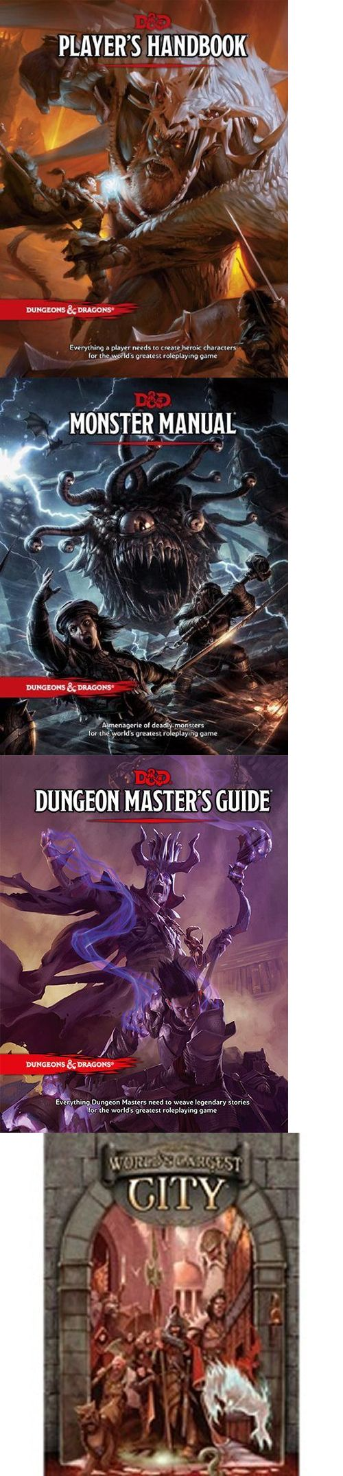 Players Handbooks 158712: Dungeons And Dragons Bundle $249.85 Value 4 Titles (Wizards Of The Coast Alderac) -> BUY IT NOW ONLY: $139.99 on eBay!