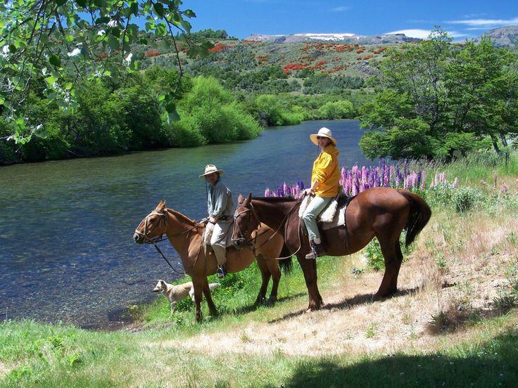 Horse riding in Bariloche