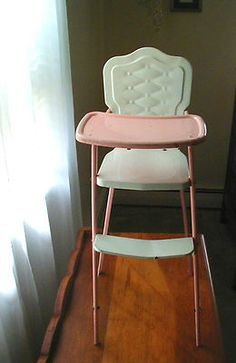 99 Best 1950s Vintage High Chair Images On Pinterest