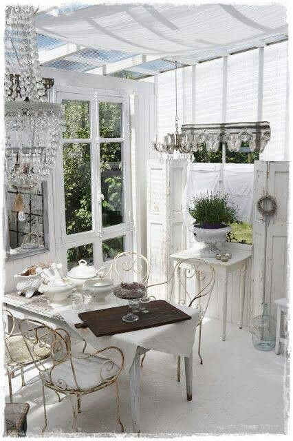 371 best images about shabby chic gardens porches on pinterest gardens ana rosa and sheds. Black Bedroom Furniture Sets. Home Design Ideas